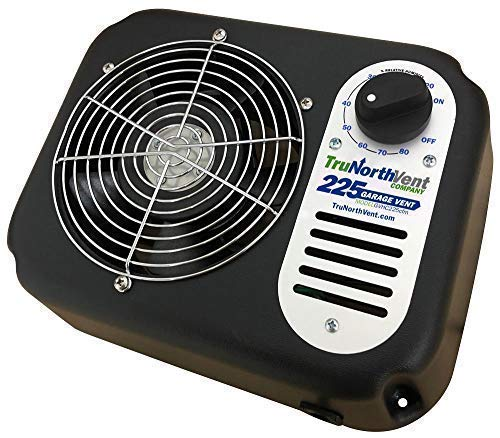Garage Vent 225 CFM | Rid your garage of moisture/humidity