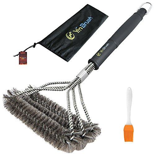 HUKOER Cepillos de limpieza de acero inoxidable -3 En 1 cepillo para...