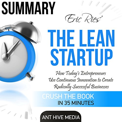 Eric Ries' The Lean Startup Summary audiobook cover art