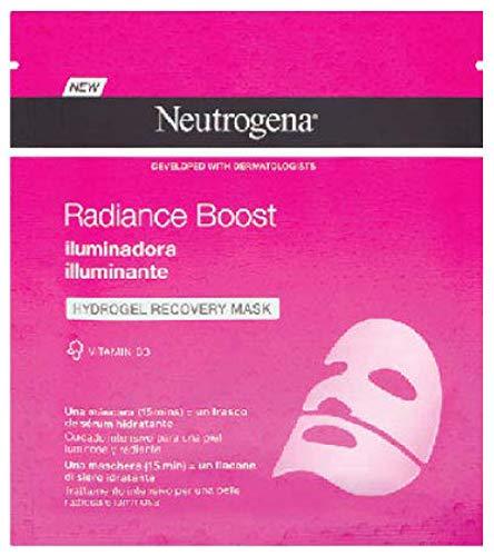Neutrogena Hydroboost Hydrogel Mascarilla Iluminadora, 30 ml