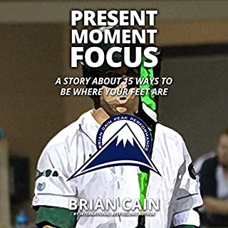 Present Moment Focus audiobook cover art