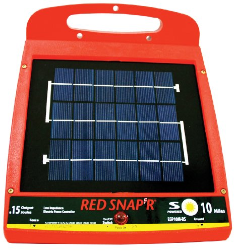 Red Snap'r ESP10M-RS 10-Mile Solar Low...
