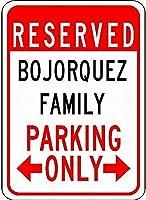金属サインボジョウツファミリー駐車場ノベルティ錫ストリートサイン