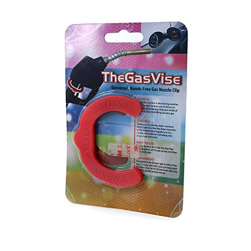 TheGasVise - Now You Can Save Time At The Pump With Our Hands-Free Gas Nozzle Gripper!