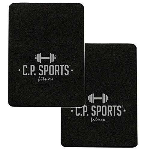 Griffpolster 3mm - 10x14cm / Ideal für Bodybuilding & Kraftsport/CP Sports Griffpads, Powerpad, Fitness-Pads