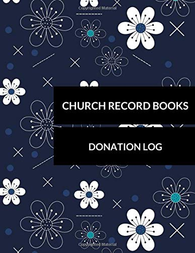 Church Record Books: Donation Log