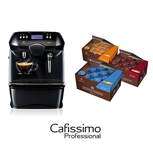 Tchibo Kaffeemaschine Cafissimo OFFICE ONE, 3 Vorratsboxen je 96 Kapseln, ideal im Büro und am Arbeitsplatz