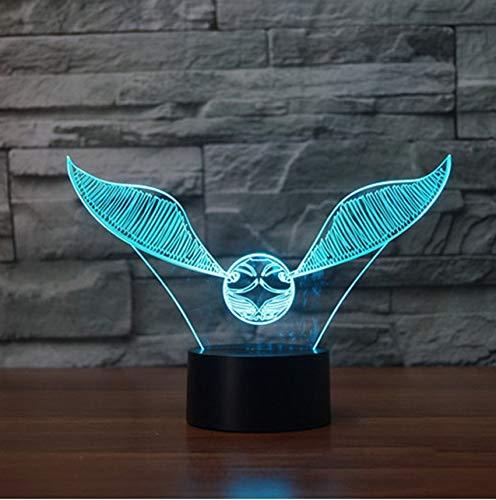 Lampe 3D Lampe de table LED Night Night Turtle Touch Table 7 couleurs changeantes Lampe de bureau Illumination stéréoscopique