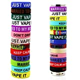 Silicone Rubber Vape Ring Colorful Vape Band Covering Rubber Ring for Electronic Cigarette RDA Mechanical Mod