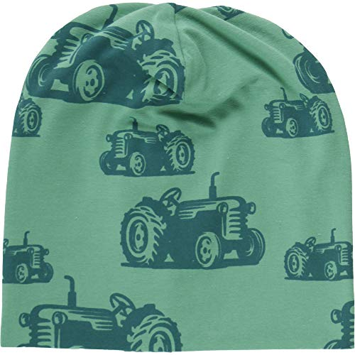 Fred'S World By Green Cotton Farming Beanie Bonnet, Vert (Green 018602201), 56/62 Bébé garçon