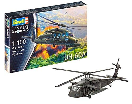 Revell Revell-UH-60A Maqueta Helicóptero UH-60A Blackhawk,