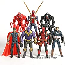 MAI PHUONGass Captain Carnage Man America Action Figures for Children Toys Gifts -Multicolor Complete Series Merchandise