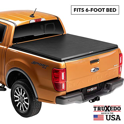 TruXedo TruXport Soft Roll Up Truck Bed Tonneau Cover | 256801 | fits 05-15 Toyota Tacoma 6' bed