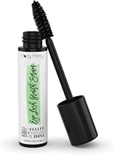 Body Merry Eyelash Growth Serum w Biotin and Peptides Lash and Eyebrow Enhancer to Grow and Maintain Long, Healthy, Luscious Lashes and Eyebrows