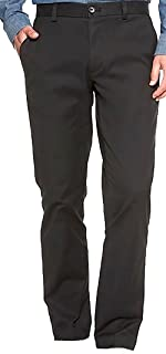 Mens Aiden-Fit Stretch Chino, Black