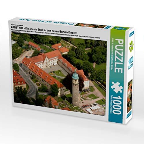 CALVENDO Puzzle ARNSTADT - Die älteste Stadt in den neuen Bundesländern 1000 Teile Lege-Größe 64 x 48 cm Foto-Puzzle Bild von Monika Müller
