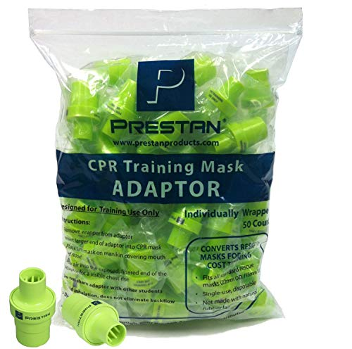 Prestan CPR Mask Training Mask Adaptor - Training Valve