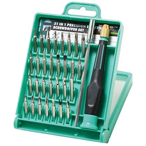 SSeir Multi-Function Juego de Destornilladores, 39-en-1 Kit de reparación de Herramientas de telecomunicaciones del teléfono móvil de Apple Inicio de precisión Destornillador de Cabeza,A