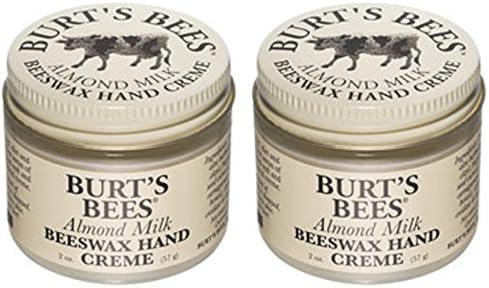 Burt s Bees Almond Milk Hand Cream Jar 2 oz Pack of 2 product image