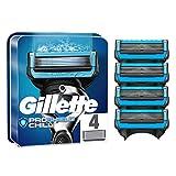 Gillette ProShield Chill - Cuchillas de afeitar para hombre (4 unidades, 5 cuchillas antiirritación)