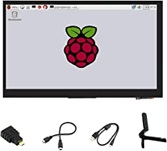 Ingcool 7 inch HDMI LCD 1024x600 Resolution Capacitive Touch Screen IPS Display Module Compatible with Raspberry Pi 4 3 2 ...