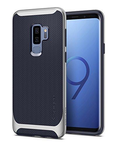 Spigen 593CS22945 Cover Galaxy S9 Plus Neo Hybrid Artic Silver Flessibile Protezione Interna e Telaio Rinforzato Dura del respingente per Samsung Galaxy S9 Plus (2018)
