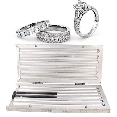 Schmuckherstellung Wachsform, Formen für die Herstellung von Ringen Armbandschmuck + Schmuckherstellung Wachsschmuck Carving Wachsgravur Wachs Werkzeug zum Erstellen und Entwerfen von Wachsform(10mm)