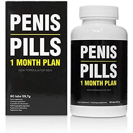 penis pills - 1 month plan (60 tabs) - prescription potency remedy branded  product in capsules and performance booster for a harder erection.:  amazon.de: drogerie & körperpflege  amazon.de