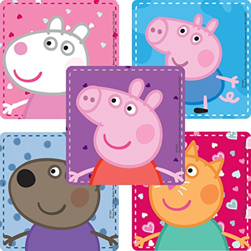 SmileMakers Peppa Pig Stickers - Prizes 100 per Pack