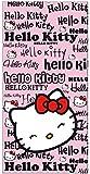 SETINO 821-527 - Toalla de playa (70 x 140 cm), diseño de Hello Kitty