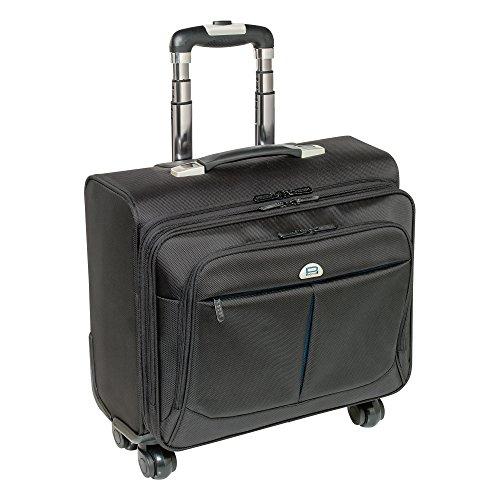 PEDEA Business Trolley 'Premium' Trolley per PC portatile fino a 17,3 pollici (43,9 cm) con scomparto per la notte, nero