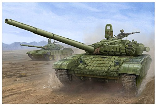 Trumpeter 750925 Russian T-72B/B1 (w reactiv Armor) 1/16 T72B/B1 MBT mit Kontakt-1