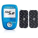 Compex Wireless Fit 5.0 Electroestimulador, Unisex, Azul + Pack de electrodos...