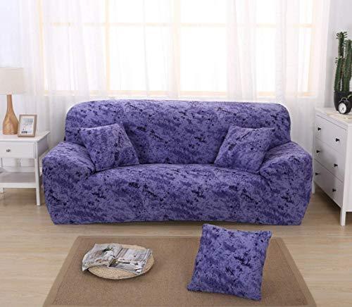 DANNEIL Fundas para Sofa con Impresión De Tinta Salpicada, para Sala De Estar, Fundas Sofa Elasticas Universal Moderna Ajustable, para Sofa Chaise Longue (colour1,3 Seater 180-225cm)