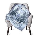 ベビー毛布 ブランケット 幸せな冬至 赤ちゃん 暖かい おしゃれ かわいい 通気 スリーパー 秋 冬 着る毛布 76cmX100cm