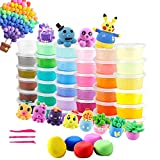 36 Colors Air Dry Clay,Magic Modeling Super Light Clay with Tools for Kids,Creative Art DIY Crafts Clay Dough, Best Gift for Kids