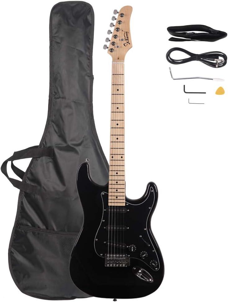 Glarry Washington Ranking TOP6 Mall Stylish Electric Guitar Kit - Bundle Beginner Elec