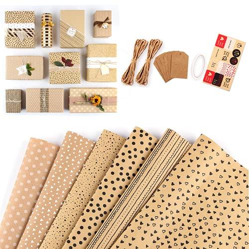 Geschenkpapier, Geburtstagspapier, Geschenkpapier, verwendet für Weihnachten, Hochzeit, Kindertag, Valentinstag, Geburtstagsfeier