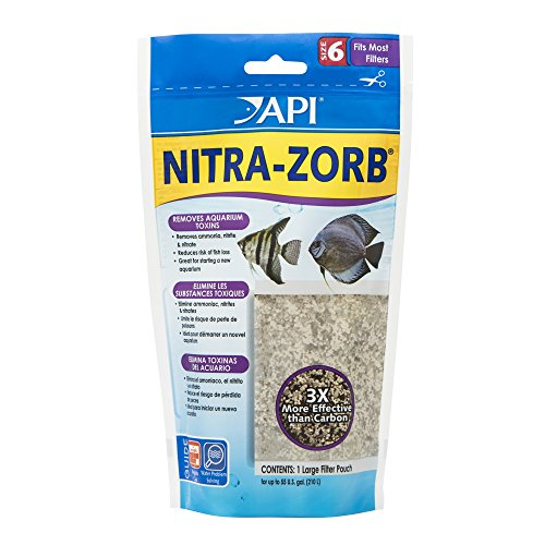 API NITRA-ZORB SIZE 6 Aquarium Canister Filter Filtration Pouch 1-Count Bag
