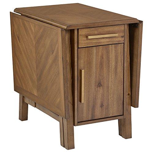 Amazon Brand – Stone & Beam Alejandra Unfinished Wood Kitchen Dining Table, Storage, Brown