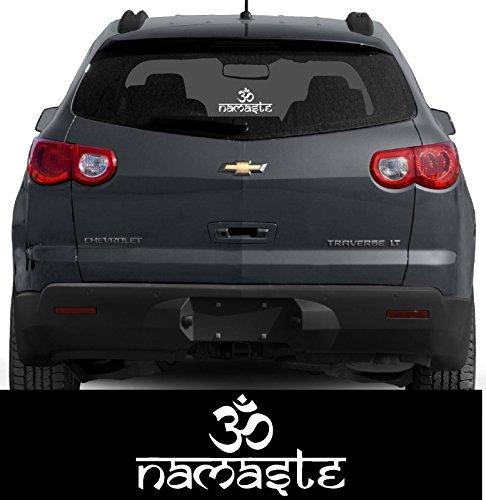 ION Graphics Buddha Hindu Sticker Om Namaste Decal Window Bumper