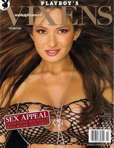 Playboy's Voluptuous Vixens February March 2008 - Genevieve Michelle, Louise Glover, Marta Zawadzka, Trista Geyer, Gabriella Hunter