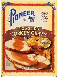 Pioneer Brand Roasted Turkey Gravy 1.41 Oz Packet (Pack of 6)