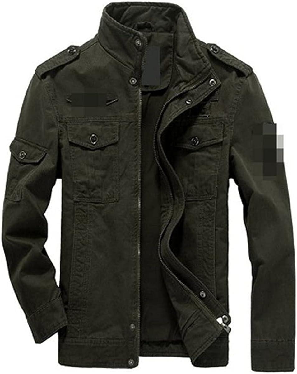 Men's Jacket Jeans Military Tactics Jacket Cotton Men's Spring And Autumn Bomber Jacket