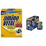 【セット買い】アミノバイタル GOLD 30本入箱 & ゼリードリンク SUPER SPORTS 100g×6個