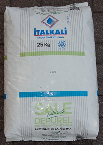 SALE IN PASTIGLIE PER ADDOLCITORI ITALKALI IN SACCO DA 25 KG