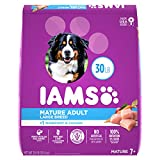 IAMS PROACTIVE HEALTH Mature Adult Large Breed Dry Dog Food Chicken Dog Kibble for Senior Dogs, 30 lb. Bag