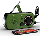 Emergency Weather Solar Hand Crank Portable Radio-VMEI NOAA Weather Radio with AM/FM,2300mAh Power Bank USB...