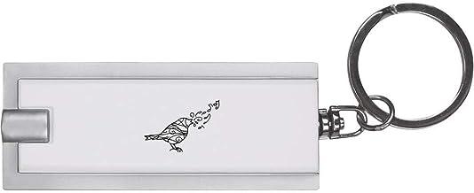 'Patterned Songbird' Keyring LED Torch (KT00016143)