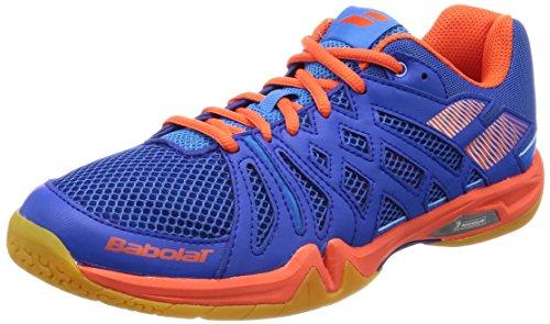 Babolat Chaussures de Badminton Shadow Team Homme 30s1805 298 bleu/orange-42.5